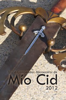 Portada del Libro Microcantar de Mio Cid 2012