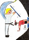 Dibujo de Daniel